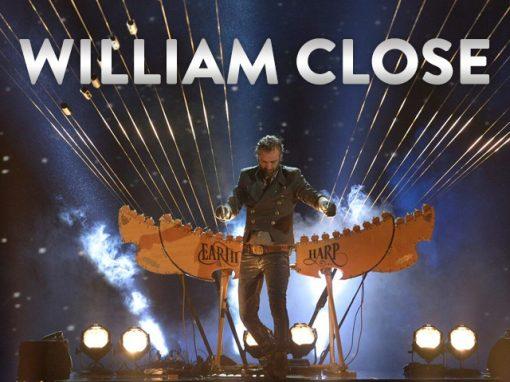 William Close<br>The Earth Harp Collective