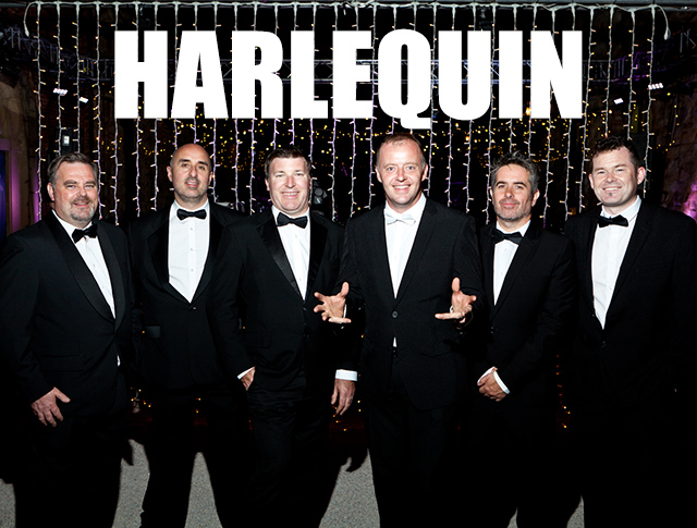 HarlequinEurope's #1 Specialist LIVE Party Band